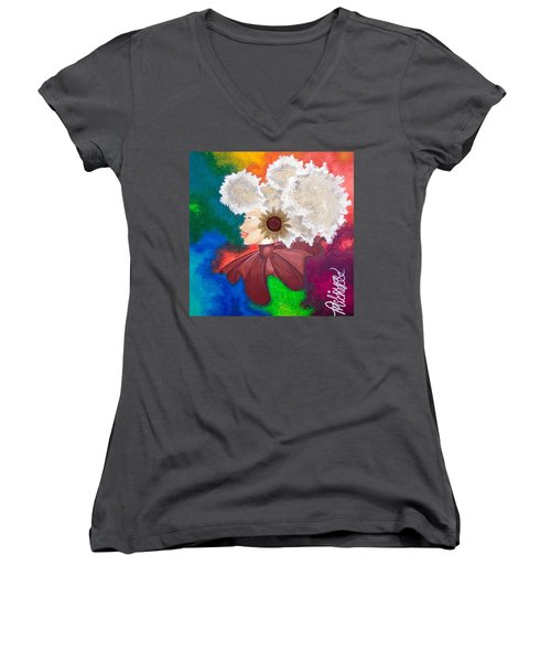 Hear No Evil Women's V-Neck