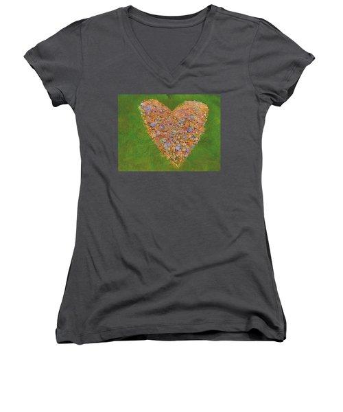 Heart Made Of Stones Women's V-Neck