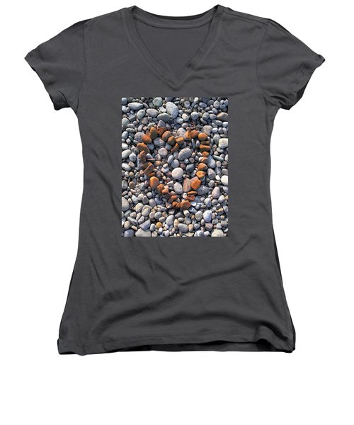 Heart Of Stones Women's V-Neck