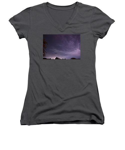 Heat Lightning Women's V-Neck