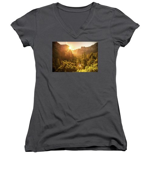 Heavenly Valley Women's V-Neck