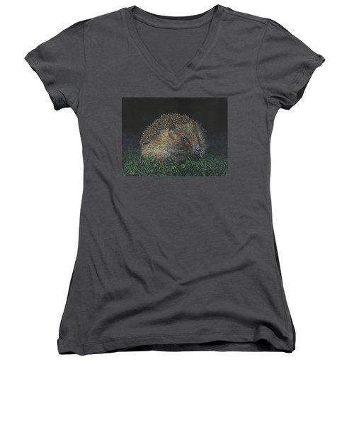 Hedgehog Women's V-Neck