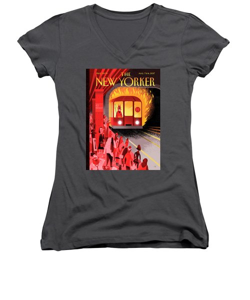 Hell Train Women's V-Neck