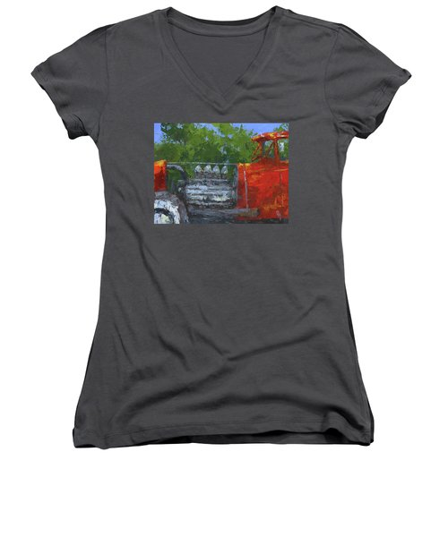 Hemi Hot Rod Women's V-Neck