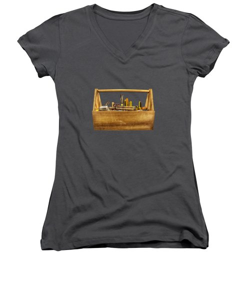 Henry's Toolbox Women's V-Neck (Athletic Fit)