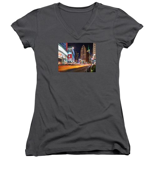 Herald Square 034 Women's V-Neck T-Shirt