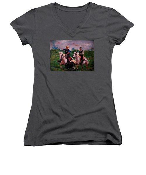 Herdsmen Women's V-Neck T-Shirt