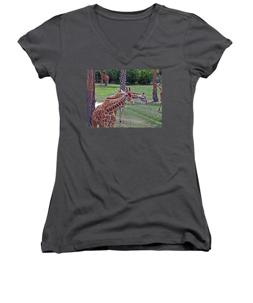 Here's Looking At You Kid Women's V-Neck T-Shirt