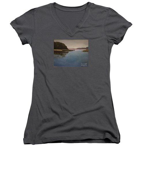 High Tide Little River Women's V-Neck T-Shirt