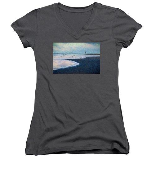 Hide Tide Women's V-Neck T-Shirt
