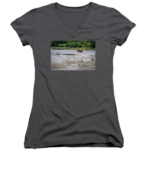 High And Dry Women's V-Neck