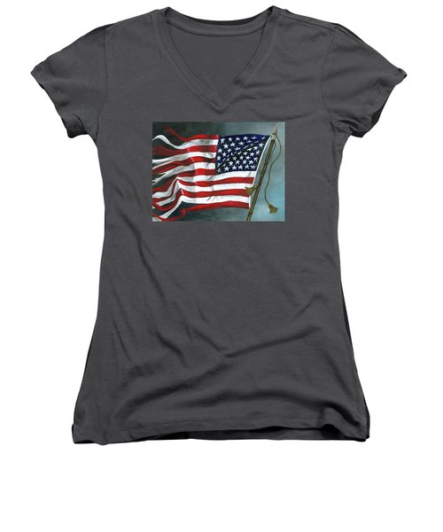 High Crimes And Misdemeanors Women's V-Neck (Athletic Fit)