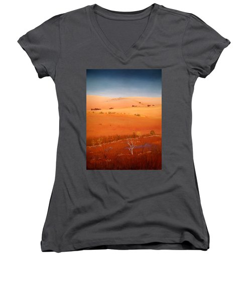 High Plains Hills Women's V-Neck