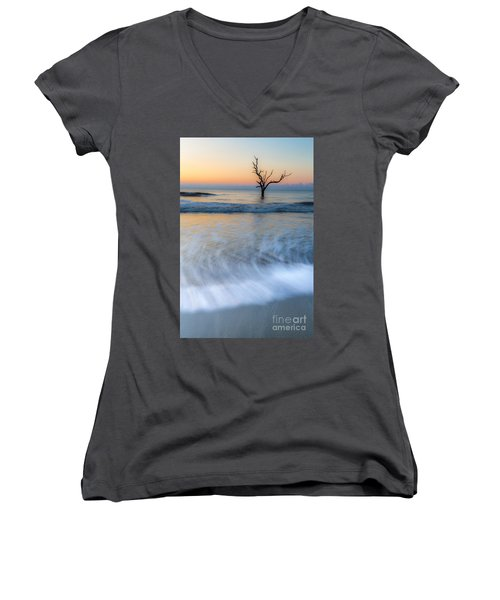 High Water Women's V-Neck (Athletic Fit)
