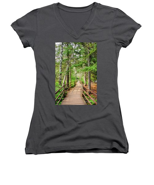 Hiking Trail Women's V-Neck