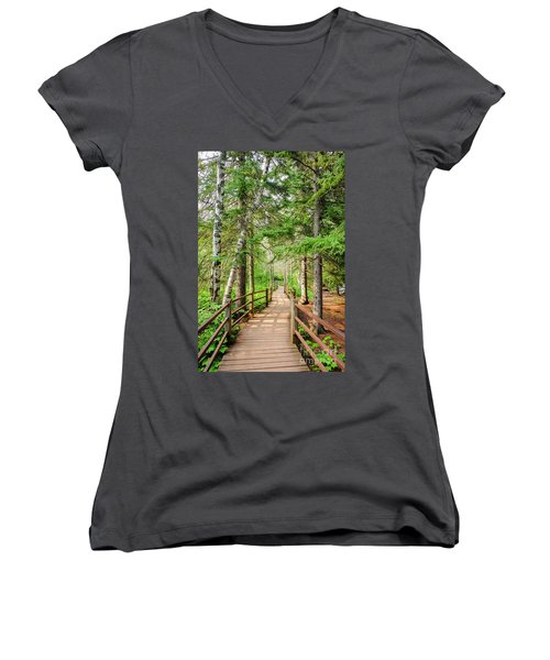 Hiking Trail Women's V-Neck