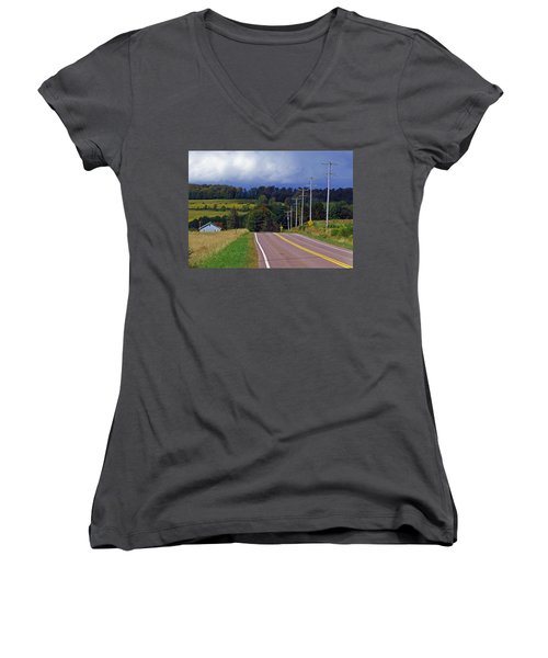 Hillside Ways Women's V-Neck T-Shirt