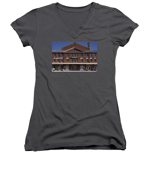 Historic Roanoke City Market Building Women's V-Neck
