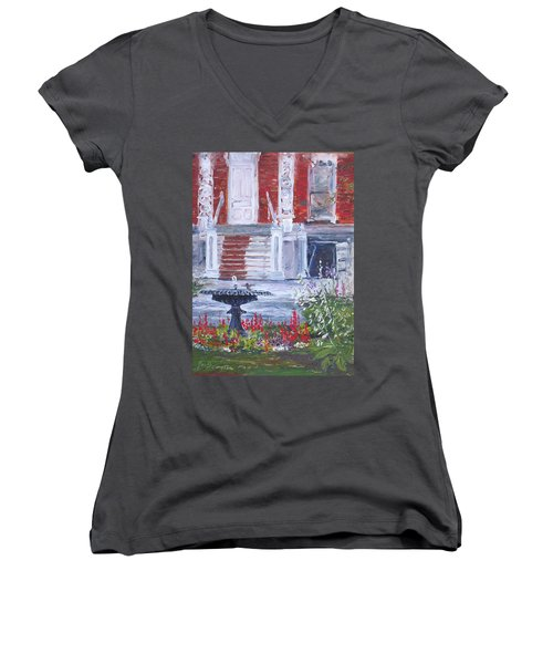 Historical Society Garden Women's V-Neck