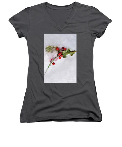 Holly 4 Women's V-Neck (Athletic Fit)
