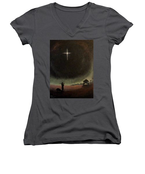 Holy Night Women's V-Neck