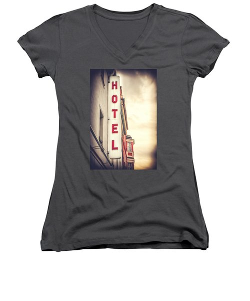 Home Is Home Women's V-Neck