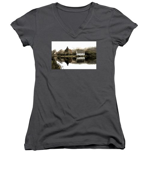 Homely House Women's V-Neck