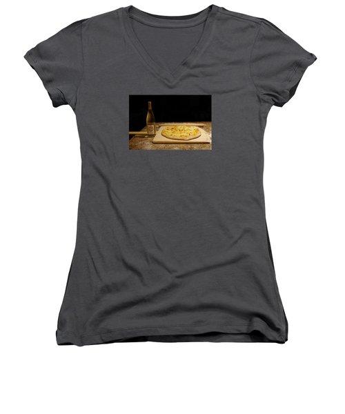 Women's V-Neck T-Shirt (Junior Cut) featuring the photograph Homemade by Greg Graham