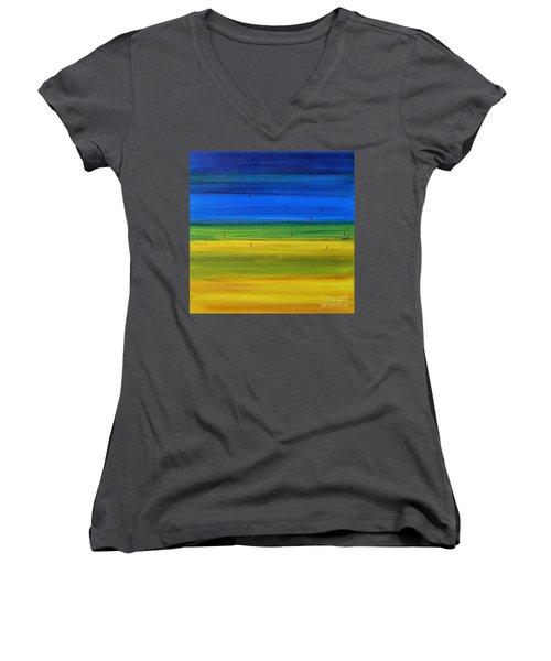 Horizon Women's V-Neck T-Shirt