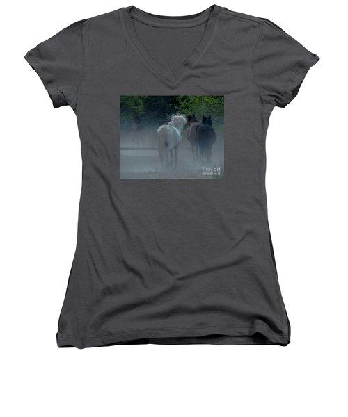 Horse 8 Women's V-Neck