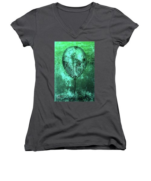 Horseshoe Crab Women's V-Neck