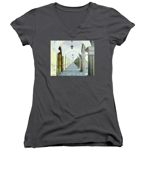Hotel Casa Mia Women's V-Neck T-Shirt