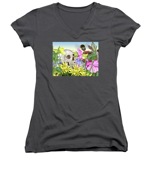 Hotel Ozymandias Women's V-Neck