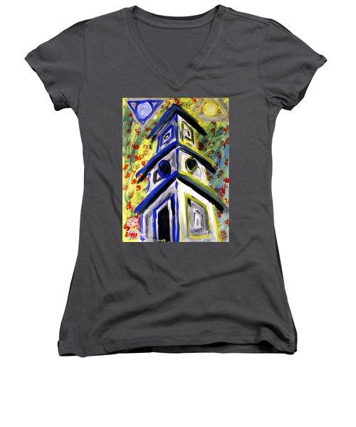 House Women's V-Neck T-Shirt