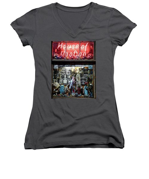 House Of Voodoo Women's V-Neck (Athletic Fit)