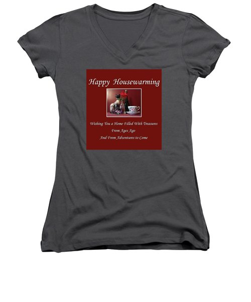 Housewarming  Women's V-Neck T-Shirt