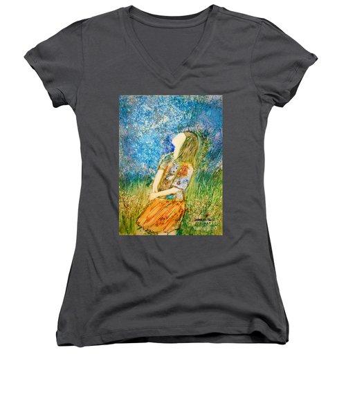 How Great Thou Art Women's V-Neck T-Shirt