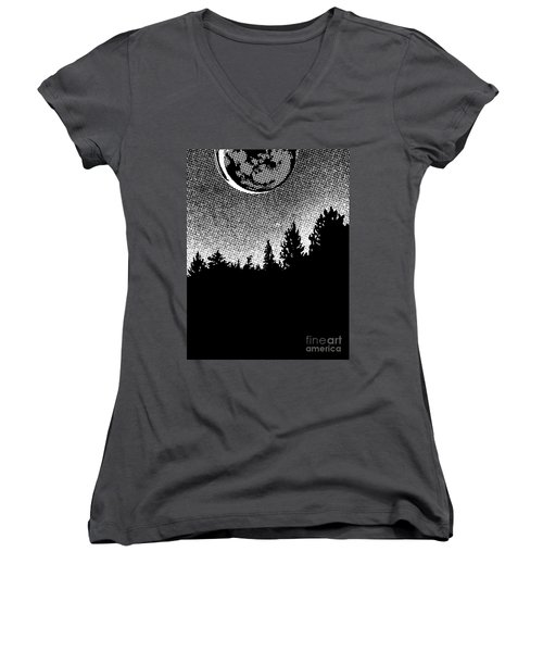 How Long Do You Think They'll Be To Pick Us Up Women's V-Neck T-Shirt