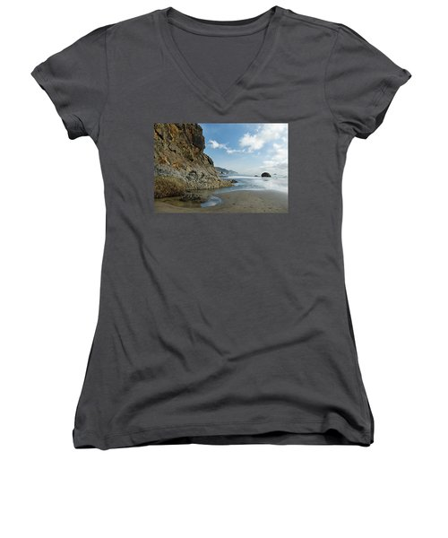 Hug Point Beach Women's V-Neck