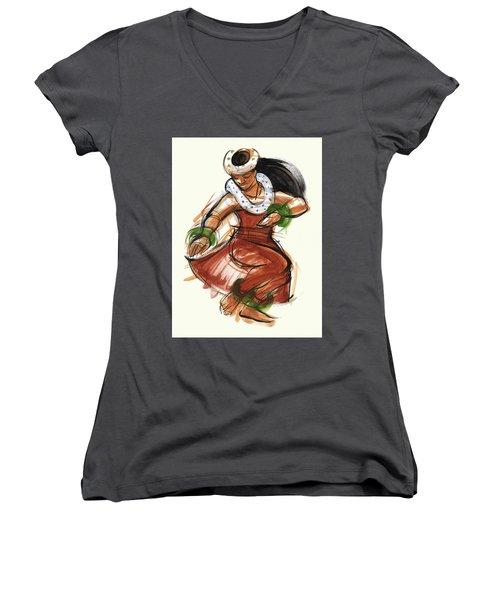 Hula Kona Women's V-Neck