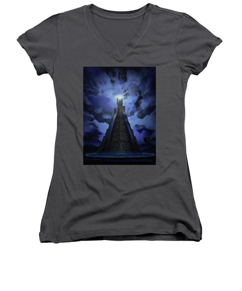 Humanity's Last Stand Women's V-Neck (Athletic Fit)