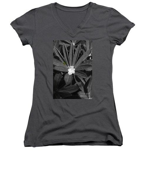 I Am Thirsty Women's V-Neck T-Shirt (Junior Cut) by Marie Neder