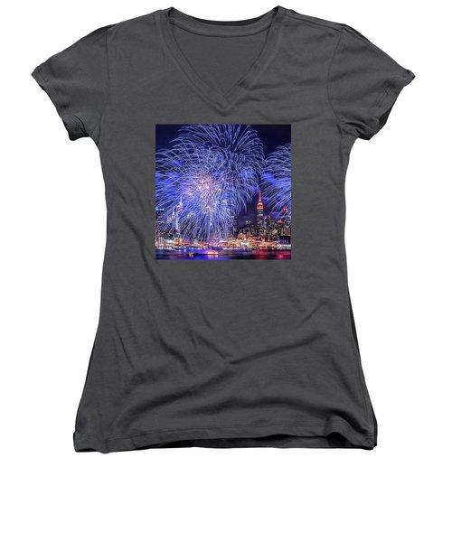 I Love This City Women's V-Neck T-Shirt