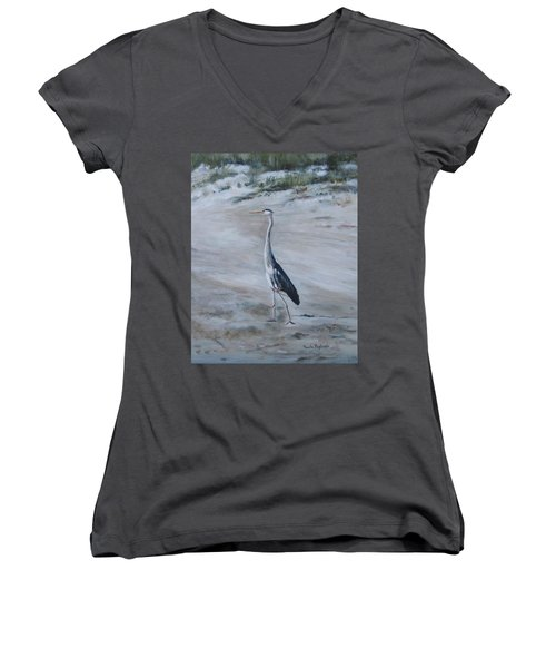 I Need My Space Women's V-Neck (Athletic Fit)