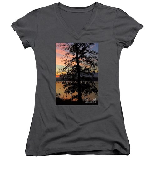 I Saw Her Standing There - Silhouette Of A Dream  Women's V-Neck T-Shirt