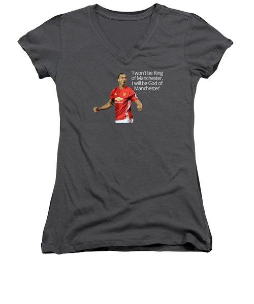 Ibrahimovic Women's V-Neck T-Shirt