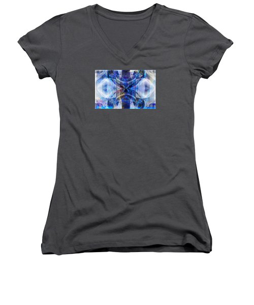 Ice Structure Women's V-Neck (Athletic Fit)