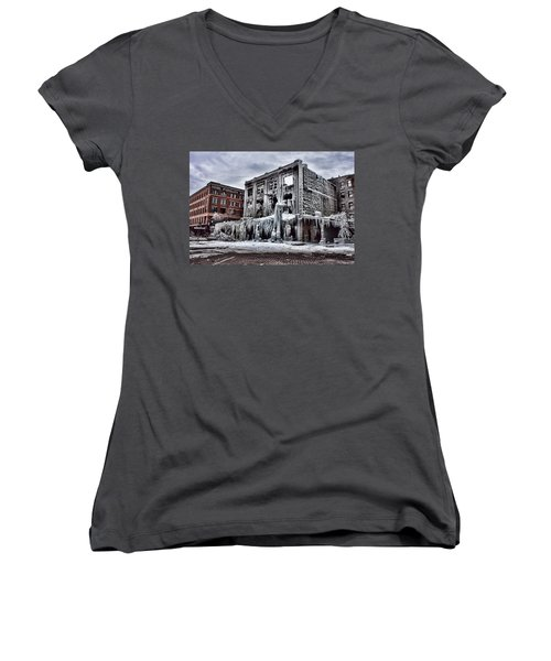 Icy Remains - After The Fire Women's V-Neck T-Shirt
