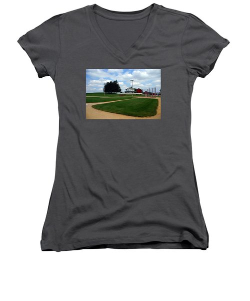 If You Build It They Will Come Women's V-Neck