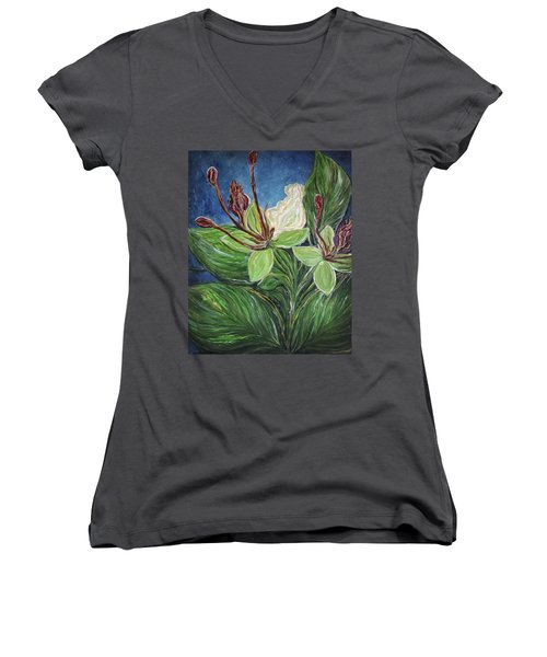 Ifit Flower Guam Women's V-Neck